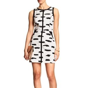 Banana Republic Cotton Cutout Sheath Dress 4
